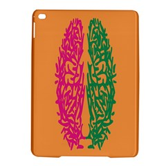 Brian Pink Green Orange Smart iPad Air 2 Hardshell Cases