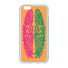 Brian Pink Green Orange Smart Apple Seamless iPhone 6/6S Case (Color)