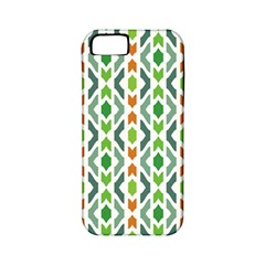 Chevron Wave Green Orange Apple Iphone 5 Classic Hardshell Case (pc+silicone)