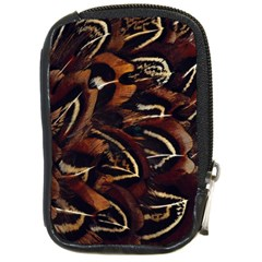 Feathers Bird Black Compact Camera Cases