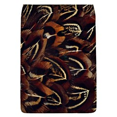 Feathers Bird Black Flap Covers (L)