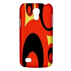 Circle Eye Black Red Yellow Galaxy S4 Mini