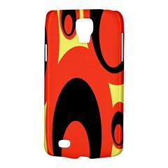 Circle Eye Black Red Yellow Galaxy S4 Active