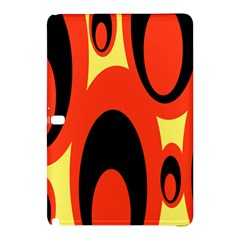 Circle Eye Black Red Yellow Samsung Galaxy Tab Pro 12.2 Hardshell Case