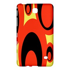 Circle Eye Black Red Yellow Samsung Galaxy Tab 4 (7 ) Hardshell Case