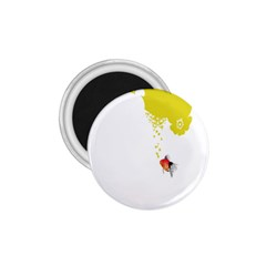 Fish Underwater Yellow White 1 75  Magnets