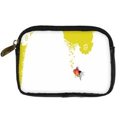 Fish Underwater Yellow White Digital Camera Cases