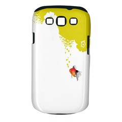 Fish Underwater Yellow White Samsung Galaxy S III Classic Hardshell Case (PC+Silicone)
