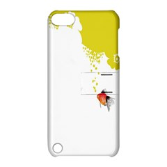 Fish Underwater Yellow White Apple iPod Touch 5 Hardshell Case with Stand