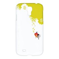 Fish Underwater Yellow White Samsung Galaxy S4 I9500/I9505 Hardshell Case
