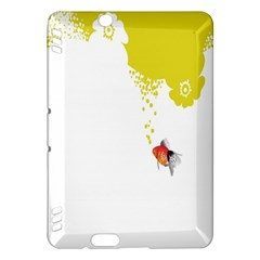Fish Underwater Yellow White Kindle Fire HDX Hardshell Case
