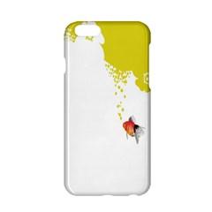 Fish Underwater Yellow White Apple Iphone 6/6s Hardshell Case