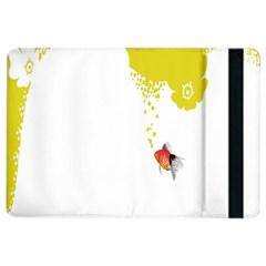 Fish Underwater Yellow White iPad Air 2 Flip