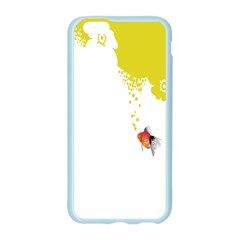 Fish Underwater Yellow White Apple Seamless iPhone 6/6S Case (Color)