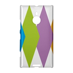Chevron Wave Triangle Plaid Blue Green Purple Orange Rainbow Nokia Lumia 1520