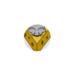 Cheese Mose Yellow Grey 1  Mini Magnets