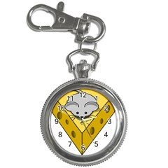 Cheese Mose Yellow Grey Key Chain Watches