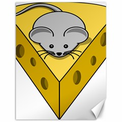 Cheese Mose Yellow Grey Canvas 12  x 16