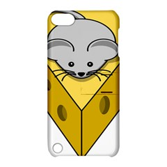 Cheese Mose Yellow Grey Apple iPod Touch 5 Hardshell Case with Stand