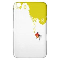 Fish Underwater Yellow White Samsung Galaxy Tab 3 (8 ) T3100 Hardshell Case