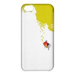 Fish Underwater Yellow White Apple iPhone 5C Hardshell Case
