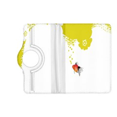 Fish Underwater Yellow White Kindle Fire HD (2013) Flip 360 Case