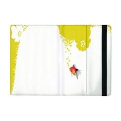 Fish Underwater Yellow White iPad Mini 2 Flip Cases