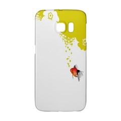 Fish Underwater Yellow White Galaxy S6 Edge