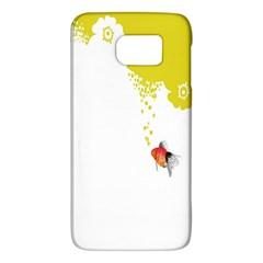 Fish Underwater Yellow White Galaxy S6