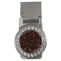 Cubes Small Background Money Clips (cz)