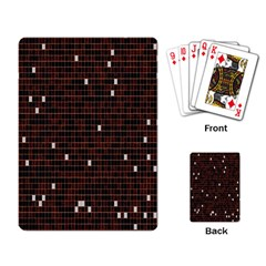 Cubes Small Background Playing Card