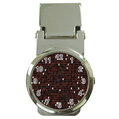 Cubes Small Background Money Clip Watches