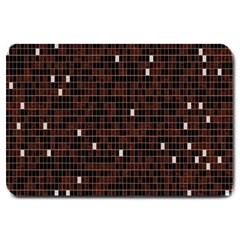 Cubes Small Background Large Doormat