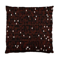 Cubes Small Background Standard Cushion Case (two Sides)