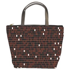 Cubes Small Background Bucket Bags