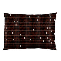 Cubes Small Background Pillow Case