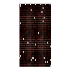 Cubes Small Background Shower Curtain 36  x 72  (Stall)