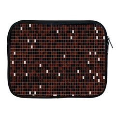 Cubes Small Background Apple iPad 2/3/4 Zipper Cases