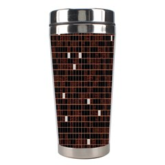 Cubes Small Background Stainless Steel Travel Tumblers