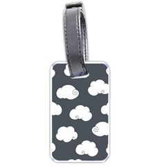 Cloud White Gray Sky Luggage Tags (One Side)