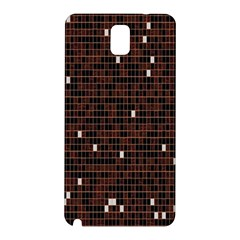 Cubes Small Background Samsung Galaxy Note 3 N9005 Hardshell Back Case