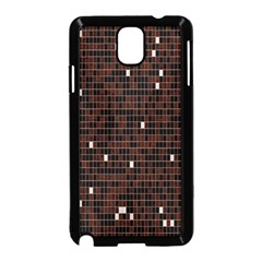Cubes Small Background Samsung Galaxy Note 3 Neo Hardshell Case (Black)