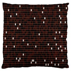 Cubes Small Background Large Flano Cushion Case (One Side)