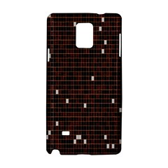 Cubes Small Background Samsung Galaxy Note 4 Hardshell Case