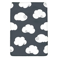 Cloud White Gray Sky Flap Covers (S)