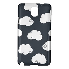 Cloud White Gray Sky Samsung Galaxy Note 3 N9005 Hardshell Case