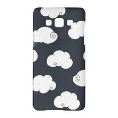 Cloud White Gray Sky Samsung Galaxy A5 Hardshell Case