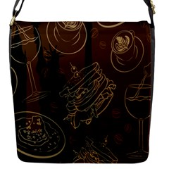 Coffe Break Cake Brown Sweet Original Flap Messenger Bag (S)