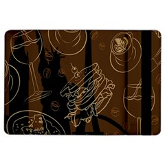 Coffe Break Cake Brown Sweet Original iPad Air 2 Flip
