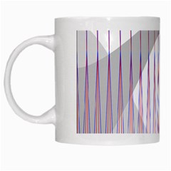 Crease Patterns Large Vases Blue Red Orange White White Mugs